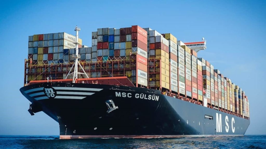 Navio de Carga - Commodities