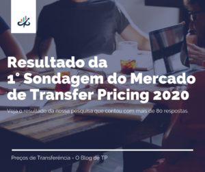 Resultado – Sondagem do Mercado de Transfer Pricing